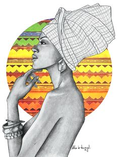 alba de armengol fashion girl illustration