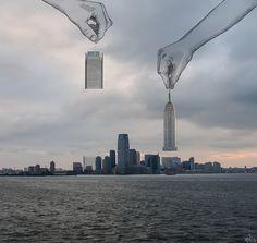 Нью-Йорк в иллюстрациях Eliska Podzimkova \ Creative