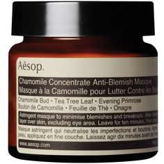 Aesop Chamomile Concentrate Anti-Blemish Masque (2.575 RUB) ❤ liked on Polyvore featuring beauty products, skincare, face care, face masks, none, hydrating facial mask, hydrating face mask, face toners, moisturizing face mask and moisturizing facial mask