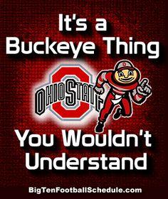 Let's Go Buckeyes!!! http://www.bigtenfootballschedule.com/ohio_state_football_schedule.html