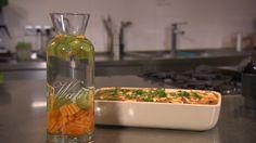 Sharon maakt een snelle vegetarische maaltijd: een lasagne van courgette en aubergine. Op de site vind je het recept! #vega #vegetarisch