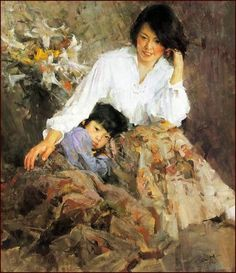 by Mian Situ [司徒绵  was born In 1953 In Canton (now Guangdong) Southern China]: