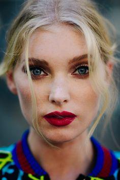 Elsa Hosk | Milan via Le 21ème