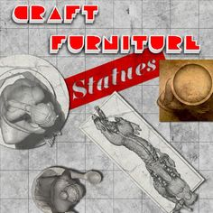 Craft Furniture: Statues | A package of fantastic statues, for dungeons, gardens, and other. 3 different textures, all in high quality.  https://marketplace.roll20.net/browse/set/856/craft-furniture-statues