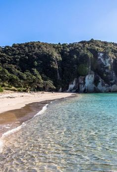 Queensland, New Zealand | Enjoy an idyllic day at The Coromandel's Cathedral Cove - one of the most picturesque beaches in New Zealand. Swim, snorkel, kayak or just relax in the sand when you cruise with Royal Caribbean to Queensland, New Zealand.