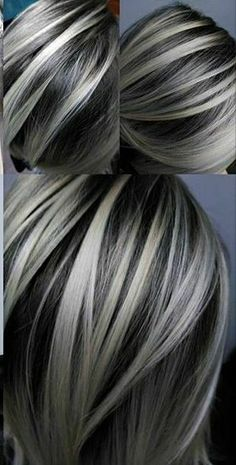 bold Silver Highlights