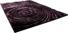 Rug CYAN DESIGN GIRARE ARTE VIOLA Luxor Purple Polyester New Hand-Tufted CY-630