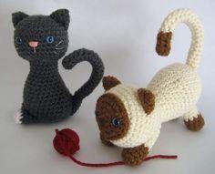 Kitten Crochet Amigurumi Pattern « The Yarn Box