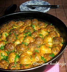 Danina kuhinja: Ćufte sa mladim krompirom iz rerne