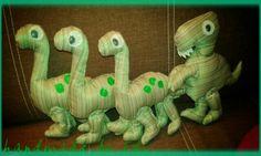 Tirex handmade Dinosaur Stuffed Animal, Toys, Handmade, Animals, Animales, Hand Made, Animaux, Craft, Animais