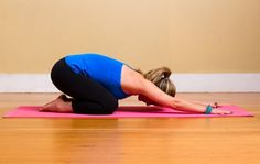 Kneel on your mat with your knees hips-width distance apart, and your big toes touching behind you. Take a ...