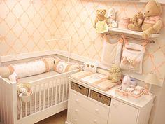 Quarto completo Provençal - Decoração para quartos de bebê