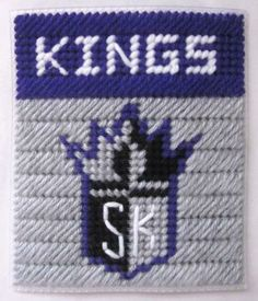 Sacramento Kings tissue box cover in plastic canvas PATTERN ONLY by AuntCC for $2.50 Plastic Canvas Tissue Boxes, Plastic Canvas Crafts, Plastic Canvas Patterns, Sports Team Logos, Sports Teams, Craft Projects, Craft Ideas, Kleenex Box, Pro Basketball