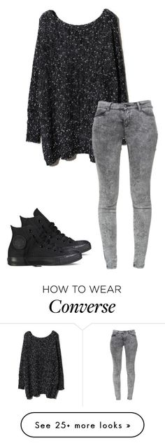 """Untitled #306"" by lullabycake on Polyvore featuring Zara and Converse"