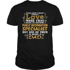 Awesome Tee For Public Information Specialist T-Shirts, Hoodies (22.99$ ==► Shopping Now!)