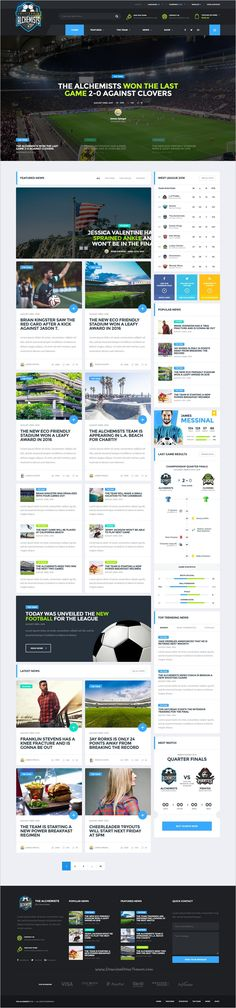 Alchemists is a perfect responsive #HTML Bootstrap template for #sports, basketball, #Soccer sports #club and news websites download now➩ https://themeforest.net/item/the-alchemists-sports-news-html-template/19106722?ref=Datasata