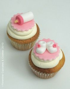 images of cupcakes | Modelos Cupcakes Baby´s | Florentine Cupcakes & Cookies