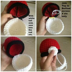 Pikachu and Pokeball Pod pattern »