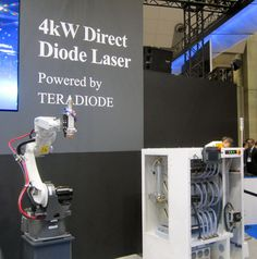 #TeraDiode announced signing of a purchase and supply w/ #Panasonic #Welding 4 its #TeraBlade laser engines. http://www.shopfloorlasers.com/laser-cutting/diode-lasers/252-direct-cutting