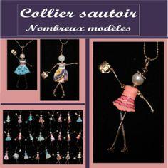 Collier Sautoir Poupée Nouveauté | eBay