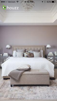 Imbiancare casa • Colori di tendenza per ogni stanza | Pareti viola ...
