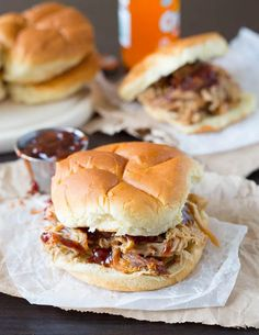 Easy Slow Cooker Pulled Pork Strawberry Bbq Sauce Recipe, Vegan Dishes, Pork Dishes, Cooking Contest, Pulled Pork Recipes, No Sugar Foods, Best Appetizers, Slow Cooker Recipes, Crockpot Recipes