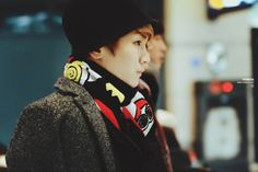 Key with his lovely scarf  :)