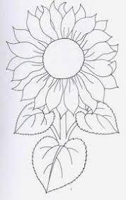 Resultado de imagen para patrones de girasoles para bordar