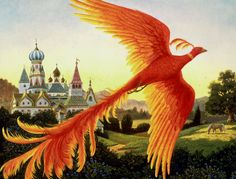 In Slavic culture, particularly Russia, there exists a legendary creature called the Firebird. Unlike the Phoenix, it's red-gold with crystalline eyes. There's also no indication that the Firebird has the…Read MoreFriday Folklore: The Firebird of Russia Pontiac Firebird, Fantasy Creatures, Mythical Creatures, Mythical Birds, Phoenix Bird Images, Birds Wallpaper Hd, Legends And Myths, Earth Design, Paint By Number Kits