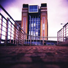 great art gallery -The Baltic, Gateshead  © Chris Trew / Plastic Cameras 2012  Love photo angle!!!!