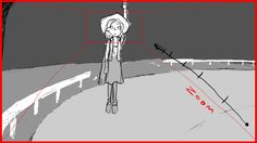 Here's a Storyboard from Bad Date Kate. What's a Storyboard? ** A storyboard is a graphic organizer in the form of illustrations or images displayed in sequence for the purpose of pre-visualizing a motion picture, animation, motion graphic or interactive media sequence. Yep! And that Magic is what Jesus Colon and Gable Marynell have worked on in Kate's Date Scene www.baddatekate.tumblr.com