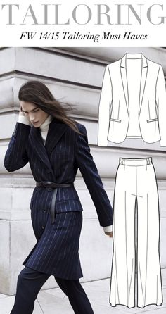 Trend Council:  FW 14/15 - Tailoring Must Haves