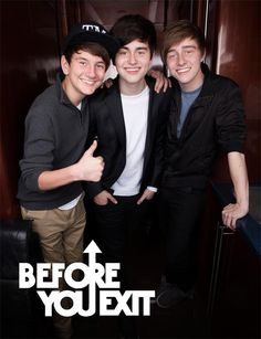 Before You Exit ~Their so cute they make me want to cry.