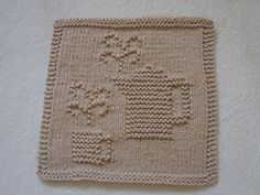 Ravelry: Coffee is Served Dishcloth pattern by Louise Sarrazin