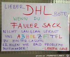 lustiges Bild 'Ein DHL-Freund.png' von Desiree. Eine von 14329 Dateien in der Kategorie 'witzige Bilder' auf FUNPOT.