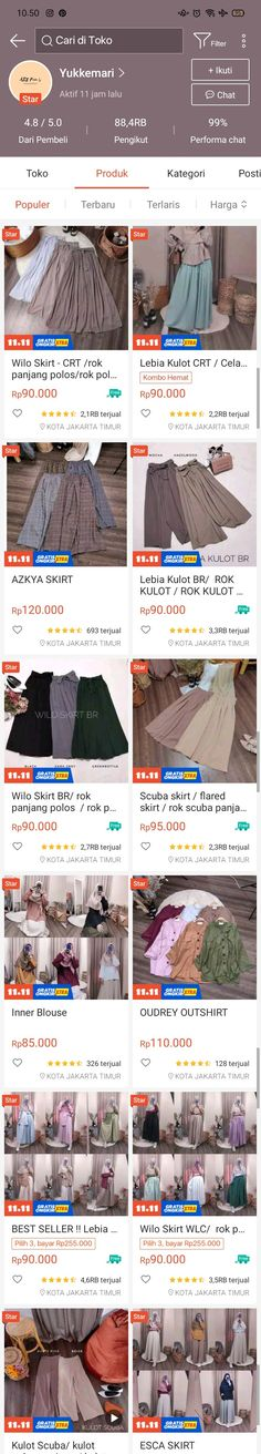 Best Online Clothing Stores, Online Shopping Sites, Online Shopping Clothes, Hijab Fashion, Korean Fashion, Online Shop Baju, Casual Hijab Outfit, Korean Outfits, Shops