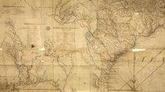 """Over time, the boundaries agreed to in the 1760s were renegotiated, as shown on this map of the """"Southern Indian District of North America,"""" 1775."""