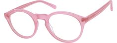 Order online, women's pink full rim acetate/plastic round eyeglass frames model #100419. Visit Zenni Optical today to browse our collection of glasses and sunglasses.