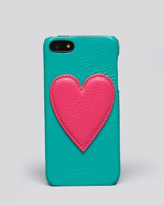 Bodhi iPhone 5 Case - Leather Heart | Bloomingdale's $34