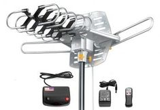Many people who are struggling to keep up with extra satellite TV bills may probably not be aware that most broadcasting stations like CBS, Fox, NBC, ABC Best Outdoor Tv Antenna, Diy Tv Antenna, Cut Cable, Diy Tools, Smart Tv, Helpful Hints, Grid, Survival, Top
