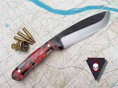 Turley Knives Missouri River with inked scales