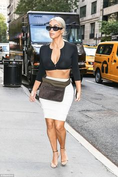 """September 8, 2017 - Kim spotted in NYC """
