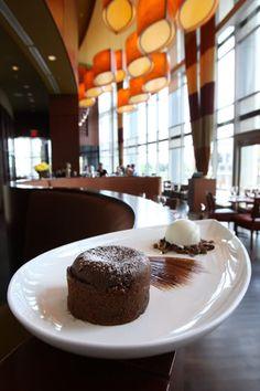 Warm Valrhona Chocolate Lava Cake recipe