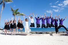 Jumping Wedding..at Dreams Puerto Aventuras