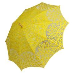 Sunshine yellow parasol $32.95 at www.parasolheaven.com