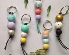 wooden keychain bead - Google zoeken