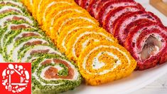 3 snack rolls for New Year's table 2020 - Rezepte Ideen Heart Healthy Snacks, Russian Pastries, Main Food Groups, Famous Drinks, Sour Cream Sauce, Seafood Dishes, Appetizers For Party, Tasty Dishes, Carne