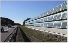 3 Renewable Energy Technologies in the ROW - Alternative Uses Of Highway Right-Of-Way - Publications - Real Estate - FHWA Renewable Energy, Solar Energy, Solar Power, Solar Panel Lights, Solar Panels, Acoustic Barrier, Sound Wall, Energy Harvesting, Solar House