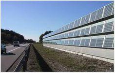 solar noise barrier - Google zoeken