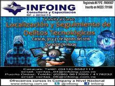 @InfoingCursos #caracas #fraudes #seguridad #hacker   CURSO LOCALIZACIÓN Y SEGUIMIENTO DE #DELITOS TECNOLÓGICOS  * 30 y 31 de agosto del 2016 * Caracas, Venezuela INFOING Consultoría y Capacitación * Teléfonos: Caracas: + 58 (212) 417.1536 / Puerto Ordaz: + 58 (286) 961.8765 * Correo: ventas_04@Infoing.com.ve * Twitter: @InfoingCursos  * http://www.Infoing.com.ve  #consultoria #PuertoOrdaz  #InCompany #Presencial